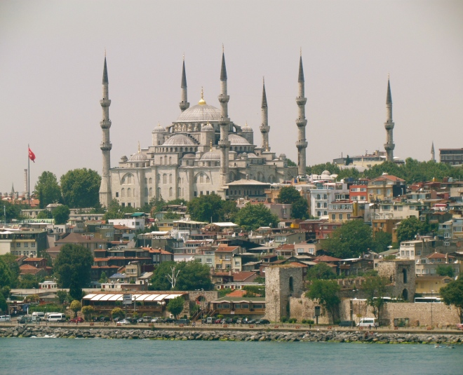Bosphorus, Istanbul, Turkey, Blue Mosque