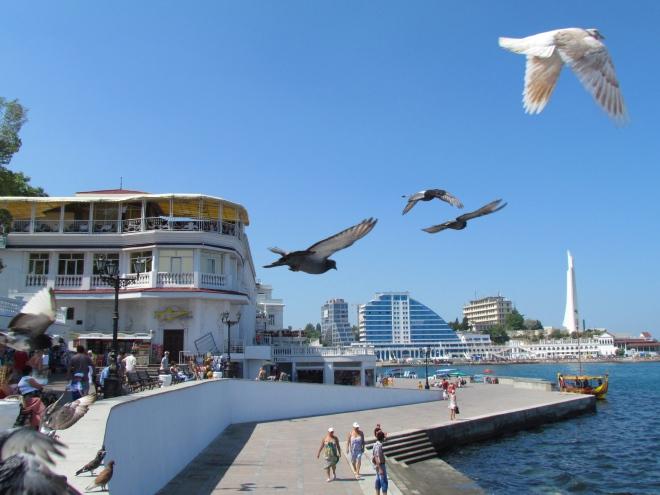 Artillery Bay, Sevastopol, Crimea, Crimean Peninsula