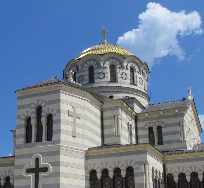 St. Vladimir Cathedral, Sevastopol, Crimea, Crimean Peninsula