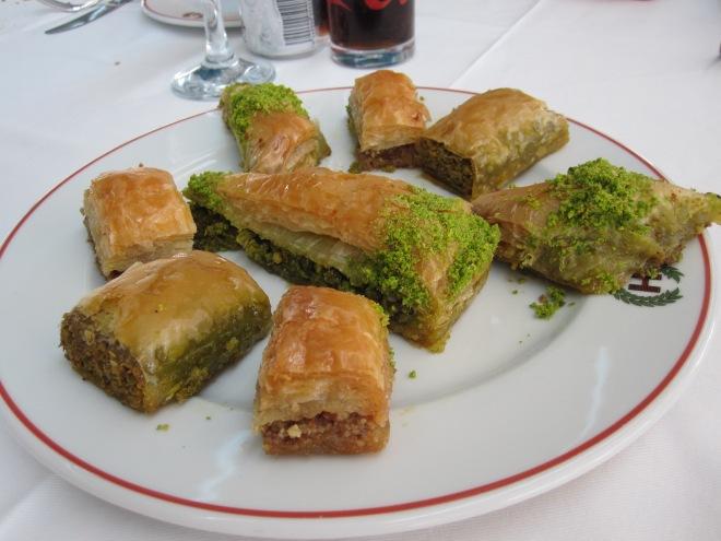Baklava, Hamdi Restaurant, Istanbul, Turkey