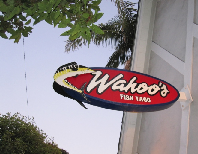 Wahoo's Fish Tacos, Laguna Beach, California