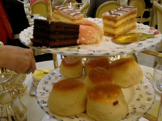 Tea at The Ritz, London