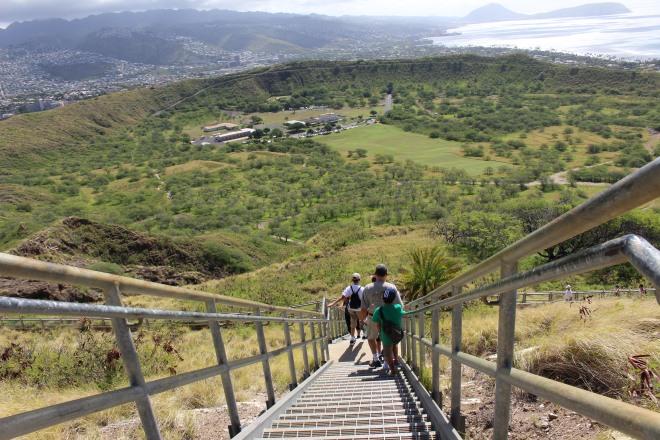 Diamond Head State Monument, Oahu, Hawaii