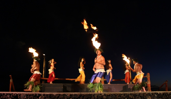 Luau, Maui, Hawaii