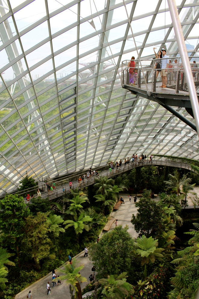 The Cloud Forest at Gardens by the Bay, Singapore