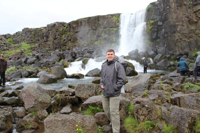 Oxarafoss Falls, Iceland