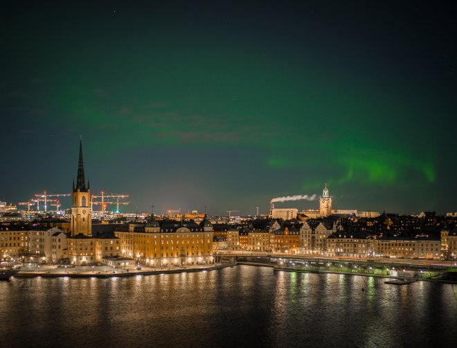 Stockholm City lights